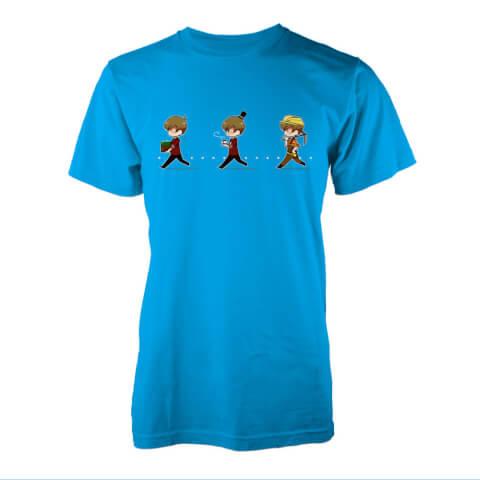 T-Shirt Grian Miner -Bleu Saphir