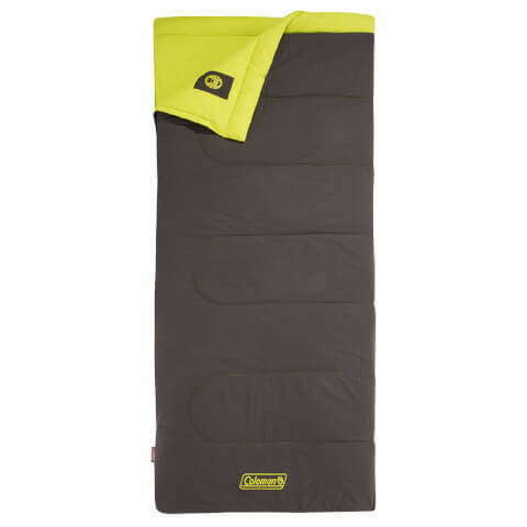 Coleman Heaton Peak Comfort 220 Sleeping Bag - Green - Single