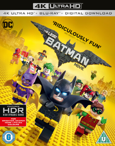 The LEGO Batman Movie - 4K Ultra HD