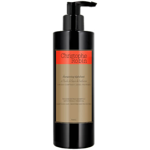 Christophe Robin Regenerating Shampoo with Prickly Pear Oil 400ml