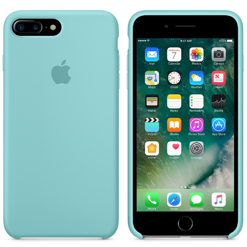 Apple iPhone 7 Plus Silicone Case - Sea Blue
