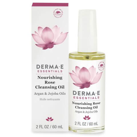 derma e Nourishing Rose Cleansing Oil