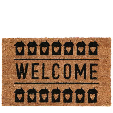 Welcome Doormat - Natural