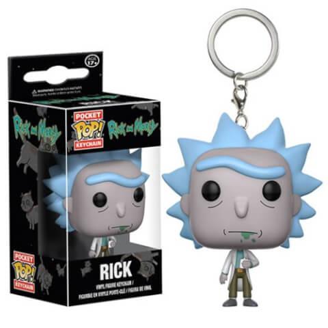 Porte-Clefs Pop! Rick, Rick et Morty
