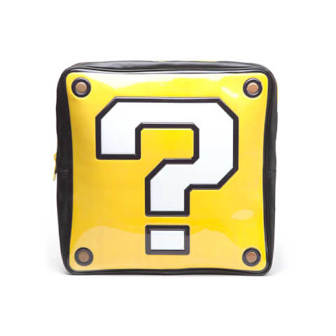 Nintendo Question Mark Box Shaped Backpack