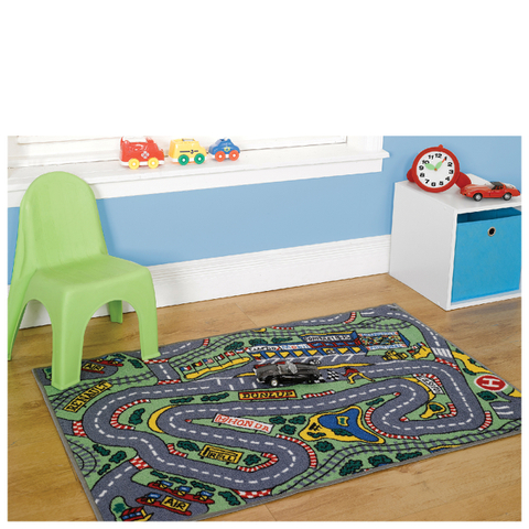 Flair Matrix Kiddy Rug - Formula 1