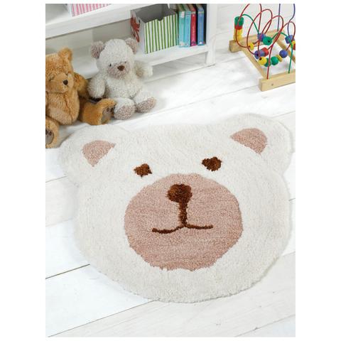 Flair Nursery Teddy Bear Rug - Natural (75X80)