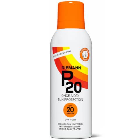 RIEMANN | Riemann P20 Sun Protection Continuous Spray SPF20 150ml | Goxip