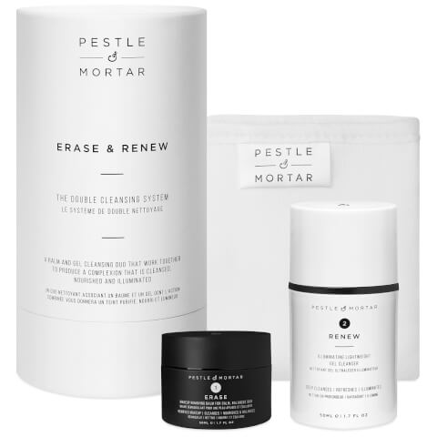 PESTLE & MORTAR | Pestle & Mortar Erase and Renew The Double Cleansing System 50ml | Goxip