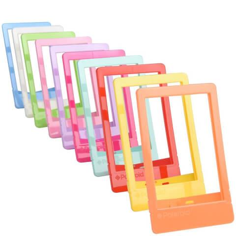 Lot de 10 Mini Cadres Colorés Polaroid pour Photos 2'x3' Polaroid - Multicolore
