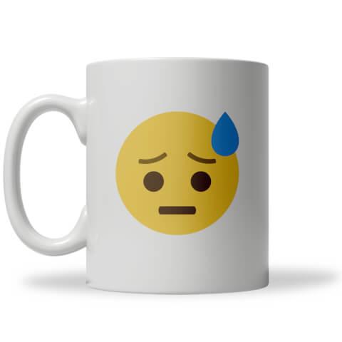Worry Emoji Mug