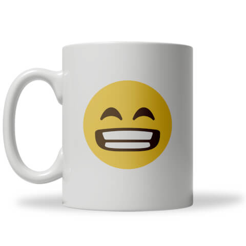 Wide Grin Emoji Mug