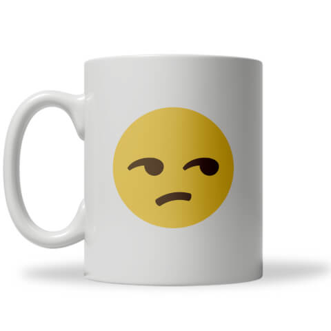 Side Eye Emoji Mug