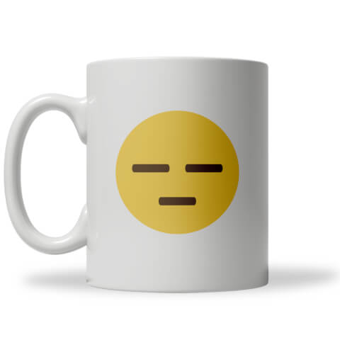 Meh Emoji Mug