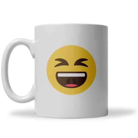 Tasse Emoji Lol