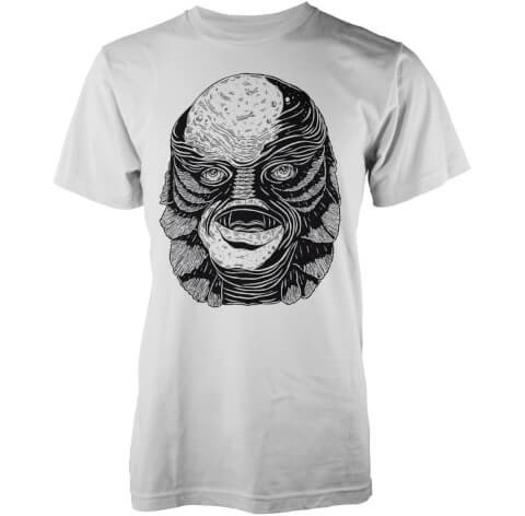 T-Shirt Homme Créature Abandon Ship - Blanc