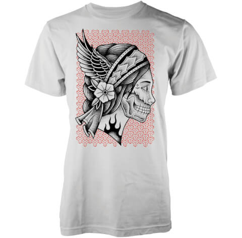 T-Shirt Homme Jane Doe Abandon Ship - Blanc
