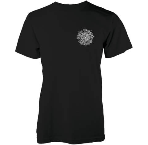T-Shirt Homme Snow Mandala Abandon Ship -Noir