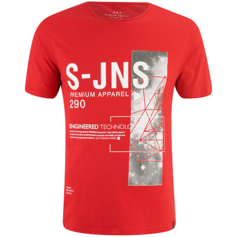 T-Shirt Homme Langchor Smith & Jones -Rouge