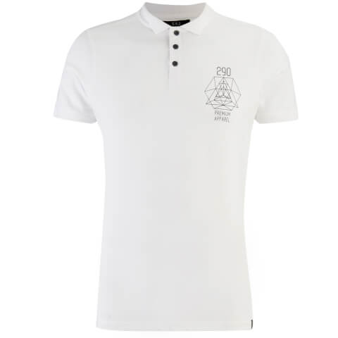 Polo Homme Parclose Smith & Jones - Blanc