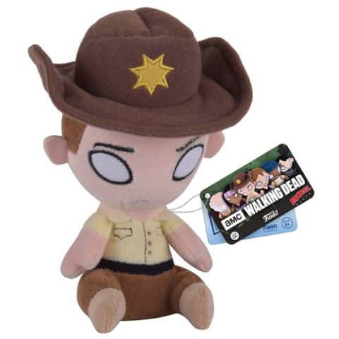 The Walking Dead Rick Grimes Mopeez Plush Figure