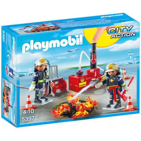 Pompiers avec matériel d'incendie - Playmobil (5397)