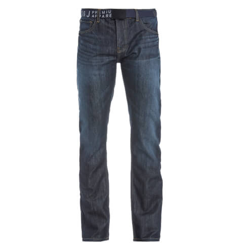 Smith & Jones Men's Furio Dark Wash Jeans - Blue Denim