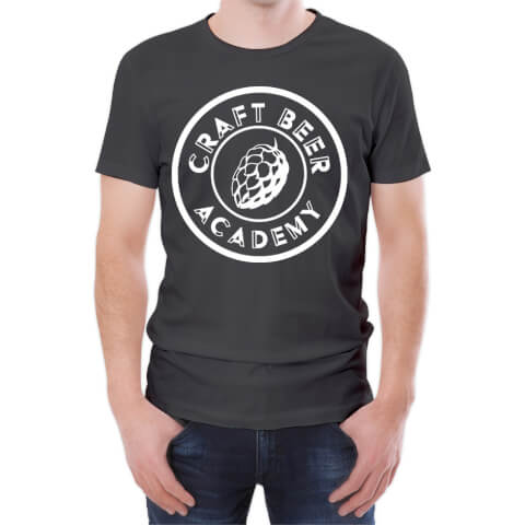 T-Shirt Homme Craft Beer Academy -Blanc