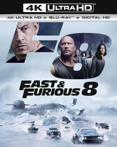 Fast & Furious 8 - 4K Ultra HD (Includes 2D Version + Digital Download)