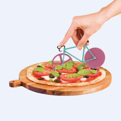 Fixie Pizza Cutter - Watermelon