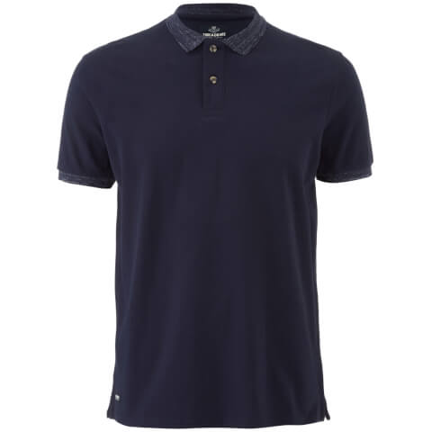 Threadbare Men's Compton Polo Shirt - Navy