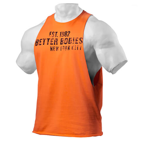 Better Bodies Graphic Logo Short Sleeve T-Shirt - Orange