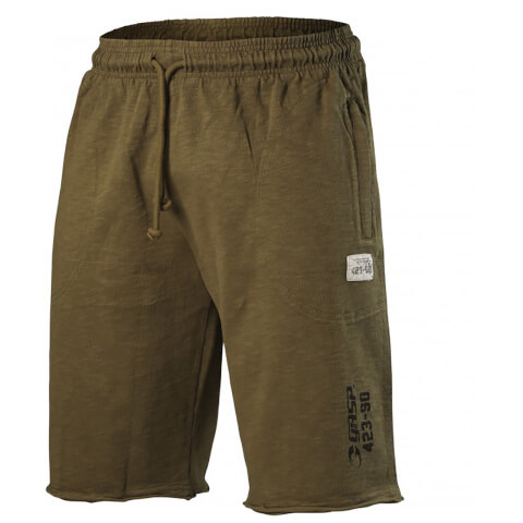 GASP Throwback Sweatshorts - Military Olive