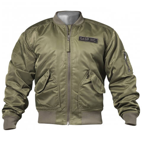 GASP Utility Jacket - Wash Green