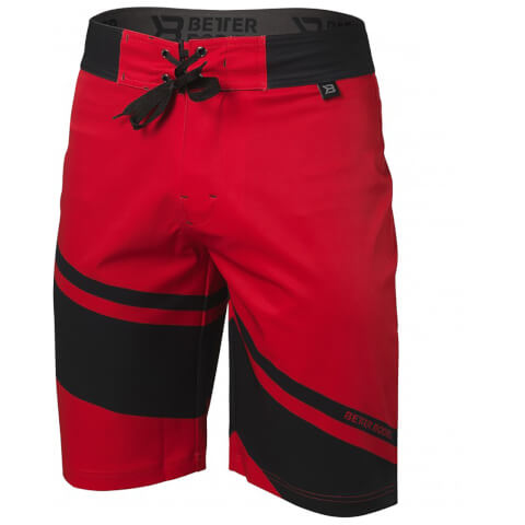 Better Bodies Pro Board Shorts - Bright Red