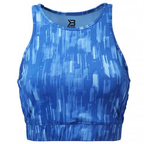 Better Bodies Manhattan Halter Top - Bright Blue