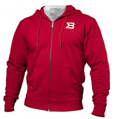 Better Bodies Jersey Hoody - Bright Red