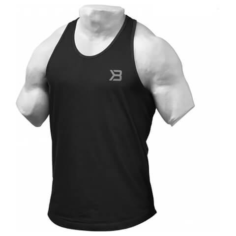 Better Bodies Essential T-Back Vest - Black