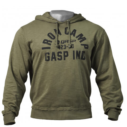GASP Throwback Hoody - Wash Green