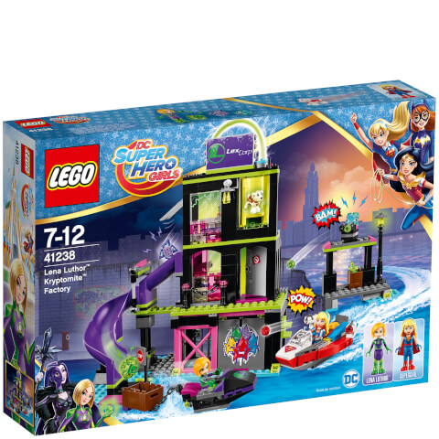 LEGO DC Superhero Girls: Lena Luthor Kryptomite Factory (41238)