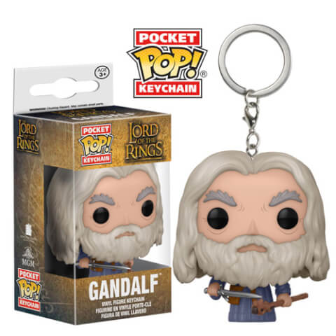 Lord Of The Rings Gandalf Pocket Pop! Vinyl Keychain