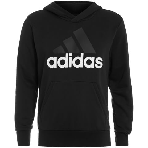 Sweat à Capuche Essential Big Logo Adidas -Noir
