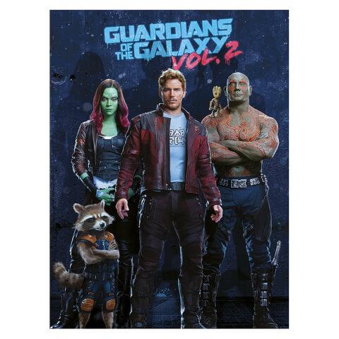 Guardians of the Galaxy Vol. 2 (Team) 60 x 80cm Canvas Print