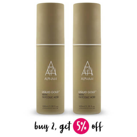 Buy 2 Alpha-H Liquid Gold 100ml And Save