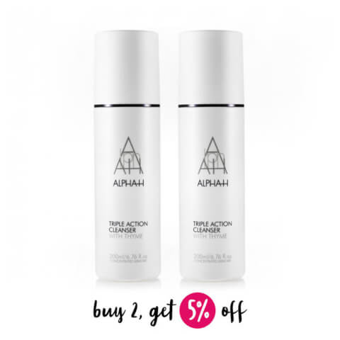 Buy 2 Alpha-H Triple Action Cleanser 200ml And Save