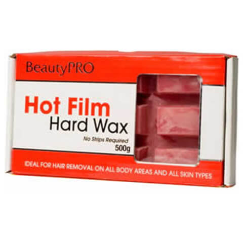 BeautyPro Hot Film Hard Wax Block 500g