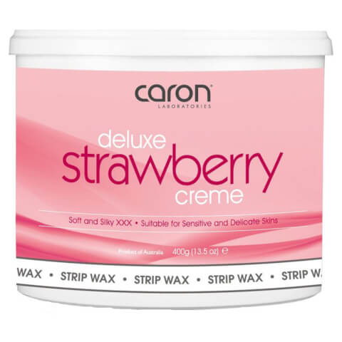 Caron Strawberry Creme Microwaveable Strip Wax 400ml