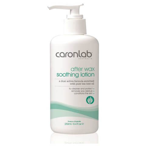 Caronlab After Wax Soothing Lotion With Pure Tea Tree Oil 250ml