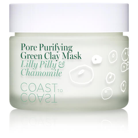 Coast to Coast Rainforest Pore Purifying Green Clay Mask 50ml