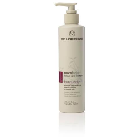 De Lorenzo Novafusion Colour Care Shampoo Burgundy